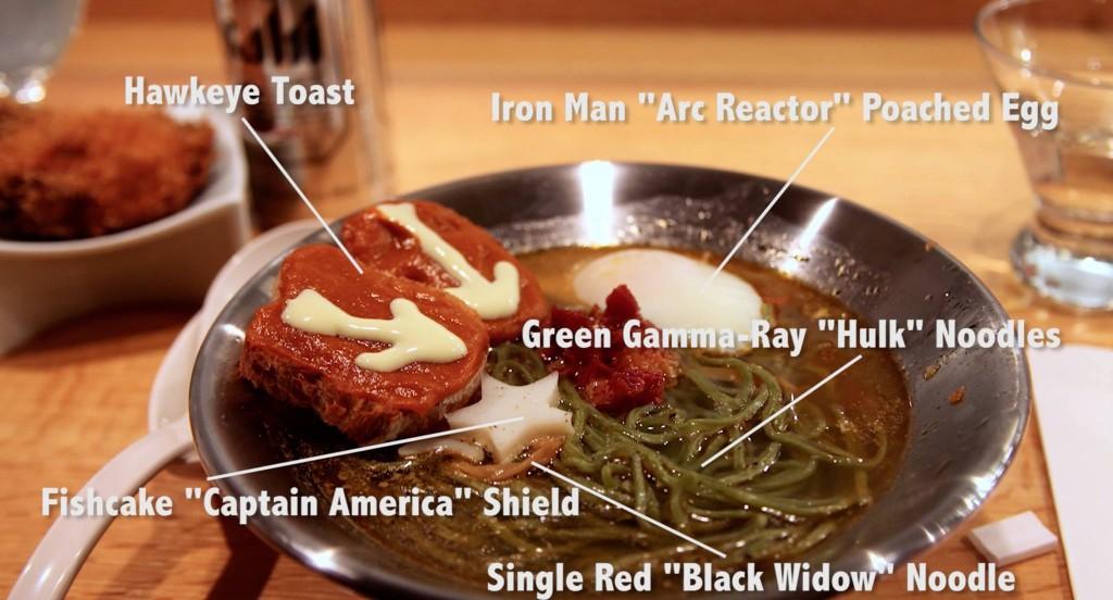 Marvel X Ippudo Avengers Interactive Ramen Dinner P 226 T 233 Smith